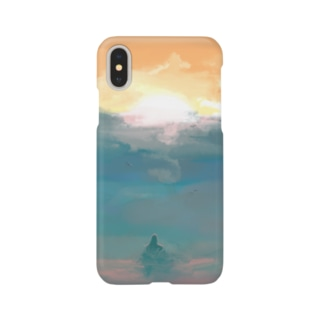 Mermaid of sunset Smartphone cases