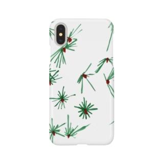 松葉 Smartphone cases