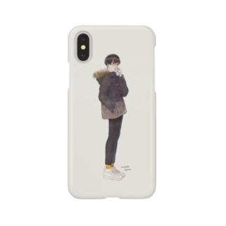 飲酒くん iPhone XS/X Smartphone cases