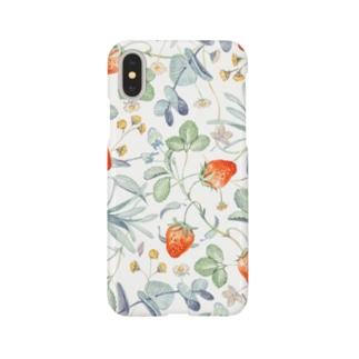 いちごと花 Smartphone cases