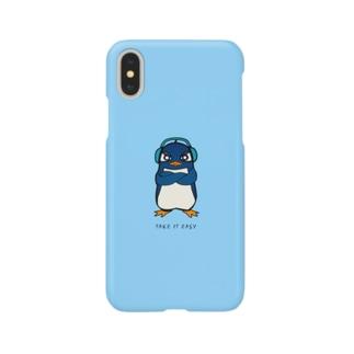 Ruペンギンのスマホケース Smartphone cases