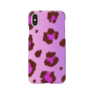 Pink leopard Smartphone cases