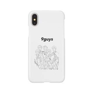 ゆきだるまくん Smartphone cases