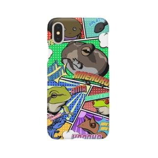 アメコミカエル Smartphone cases