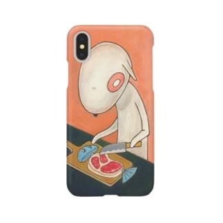 ワンワン『料理』 Smartphone cases
