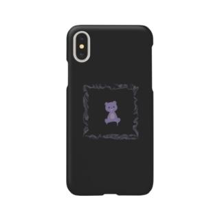 闇くまさん Smartphone cases