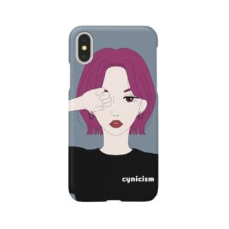 シニシズム Smartphone cases