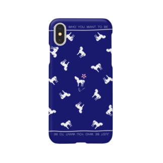 Spring Horseジャパンブルー Smartphone cases