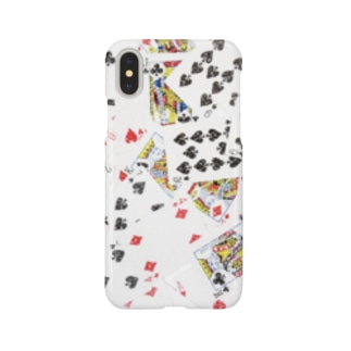 Cards【iPhone X用】 Smartphone cases