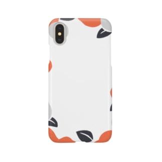 シンプルな和柄 Smartphone cases
