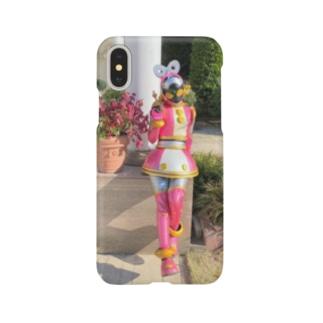 モモちゃんと過ごそう_01 Smartphone cases