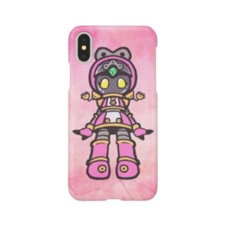 公式絵モモ_02 Smartphone cases