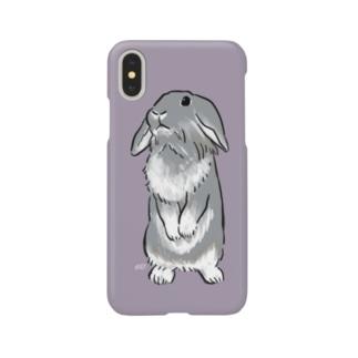 タレ耳うさぎのウタッチ Smartphone cases