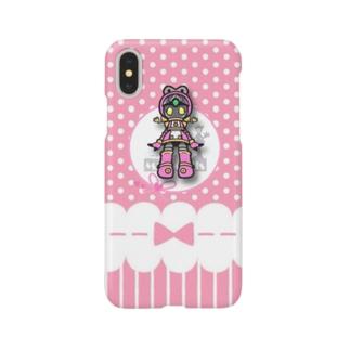 公式絵モモ_04 Smartphone cases