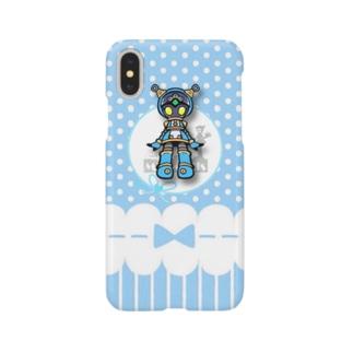 公式絵アオイ_04 Smartphone cases
