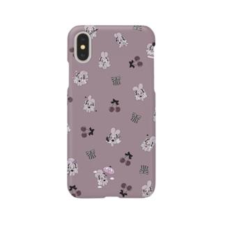 うさぎお嬢さま Smartphone cases