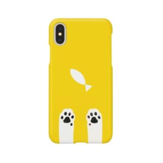 猫きいろ Smartphone cases