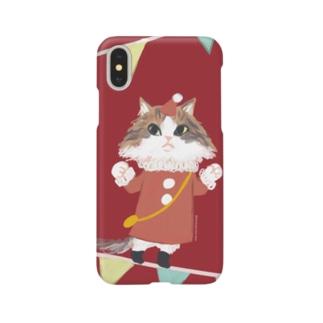 クリスマスルッコラ Smartphone cases