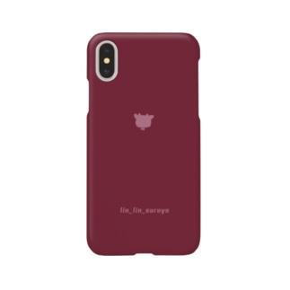 りんりんするiPhoneケース《レッド》 Smartphone cases