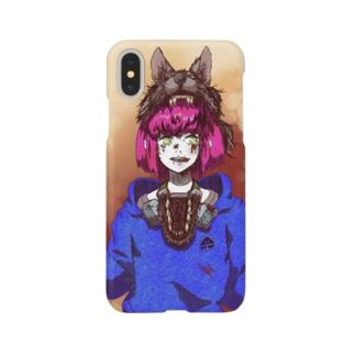 オオカミさん Smartphone cases