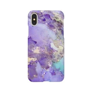 アルコールインク6 Smartphone cases