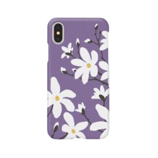 辛夷(こぶし)の花 Smartphone cases