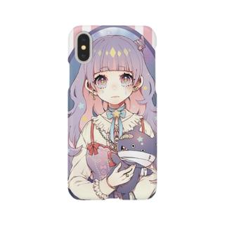 ツノちゃん Smartphone cases