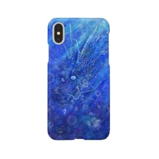 青龍【水中】 Smartphone cases