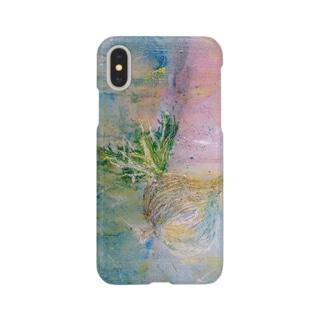 油絵で Smartphone cases