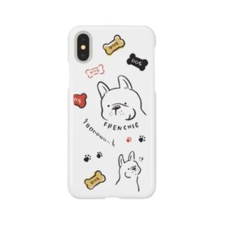 ブーっと鳴くフレンチーくん Smartphone cases