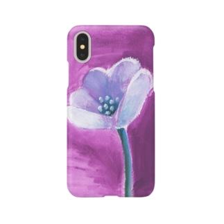 あるフラワー Smartphone cases
