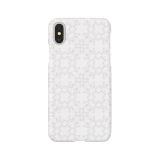 幾何学模様 R Smartphone cases