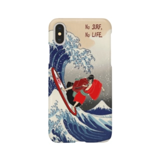 The Great Wave off Kanagawa(KABUKI-MONO) Smartphone cases