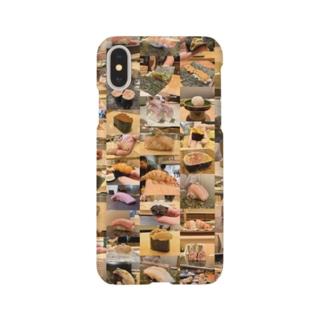 美人のお気に入り鮨 Smartphone cases