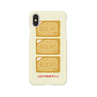 ビスケット Smartphone cases