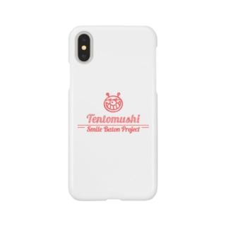 てんとうむしSmileBatonProject (赤) Smartphone cases