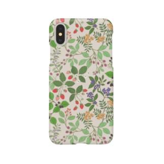 いちご, ラズベリー, etc. Sweet Sun Berries Smartphone Case