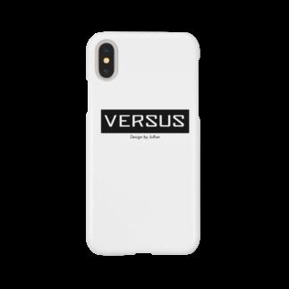 VERSUS design by JuRan®のVERSUS Design by JuRan Logo Goods Smartphone cases