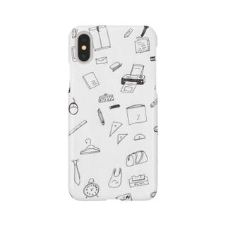 オフィスの仲間たち Smartphone cases