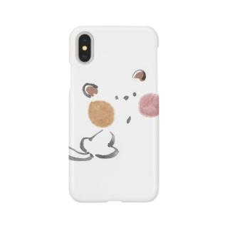 にゃー Smartphone cases