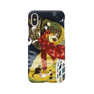 ユーレイさん Smartphone cases