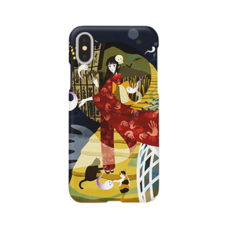 - さらさら -のユーレイさん Smartphone cases
