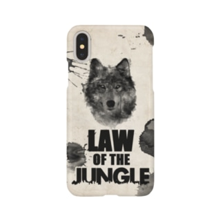 弱肉強食(Law of the Jungle) Smartphone cases