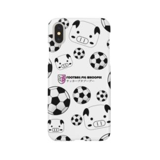 サッカーブタブーブーNo.4 Smartphone cases