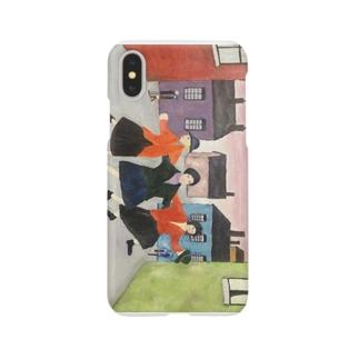 日本での色合い、空間そして時の中のラウリー:Lowry in Japanese color, space, and time Smartphone cases