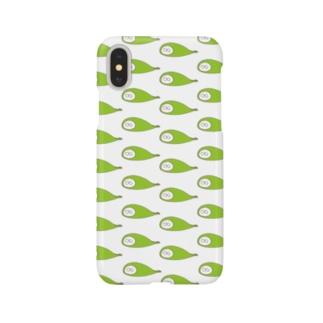 ねこタイツ きみどり Smartphone cases