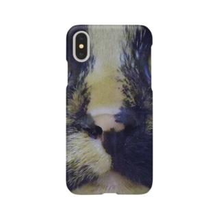 あかめ@猫カフェのサビ猫 Smartphone cases