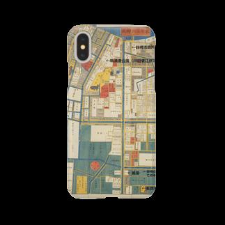 メディア木龍・谷崎潤一郎研究のつぶやきグッズのお店の本所深川絵図 Smartphone cases