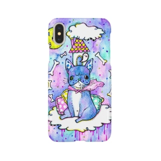 Blue dog Smartphone cases
