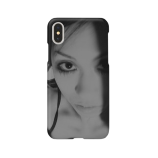 [Strychnine] zAkro フォトカード柄~壱~(モノクロ) Smartphone cases